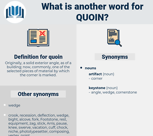 quoin, synonym quoin, another word for quoin, words like quoin, thesaurus quoin