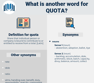 quota, synonym quota, another word for quota, words like quota, thesaurus quota