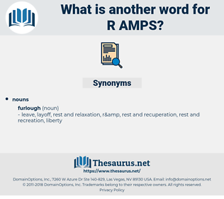 r & amps, synonym r & amps, another word for r & amps, words like r & amps, thesaurus r & amps