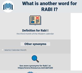 Rabi I, synonym Rabi I, another word for Rabi I, words like Rabi I, thesaurus Rabi I