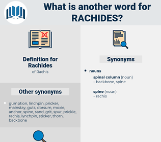 Rachides, synonym Rachides, another word for Rachides, words like Rachides, thesaurus Rachides