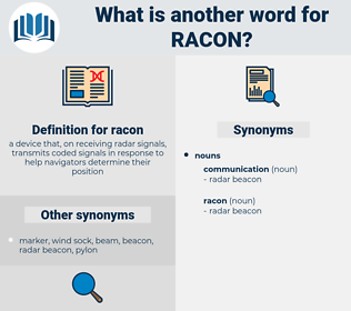 racon, synonym racon, another word for racon, words like racon, thesaurus racon