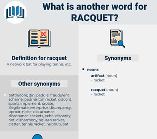racquet, synonym racquet, another word for racquet, words like racquet, thesaurus racquet