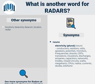 radars, synonym radars, another word for radars, words like radars, thesaurus radars