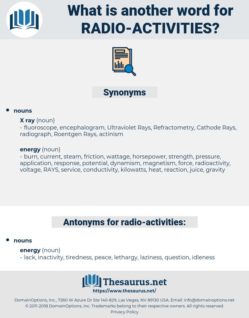 radio activities, synonym radio activities, another word for radio activities, words like radio activities, thesaurus radio activities