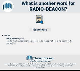 radio beacon, synonym radio beacon, another word for radio beacon, words like radio beacon, thesaurus radio beacon