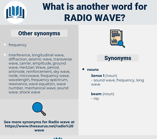 radio wave, synonym radio wave, another word for radio wave, words like radio wave, thesaurus radio wave