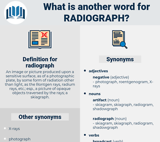 radiograph, synonym radiograph, another word for radiograph, words like radiograph, thesaurus radiograph