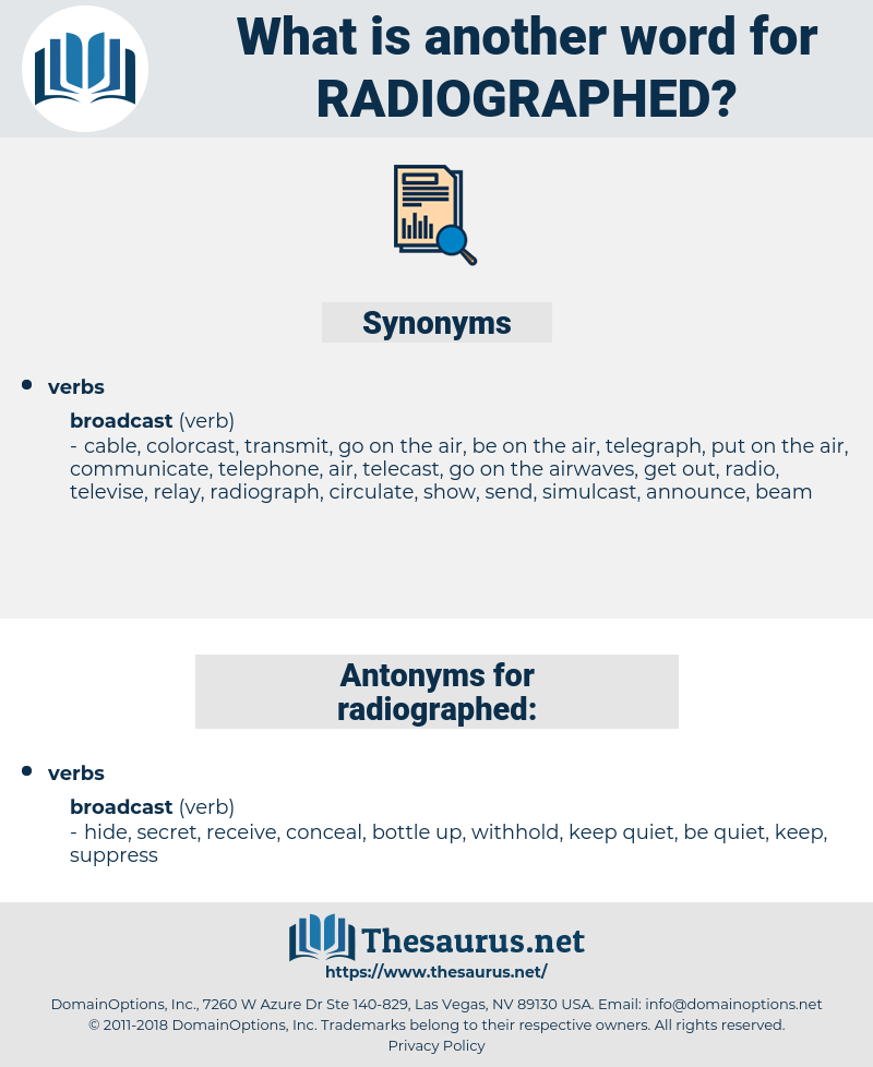 radiographed, synonym radiographed, another word for radiographed, words like radiographed, thesaurus radiographed