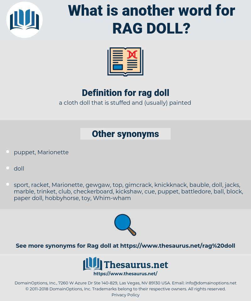 rag doll, synonym rag doll, another word for rag doll, words like rag doll, thesaurus rag doll