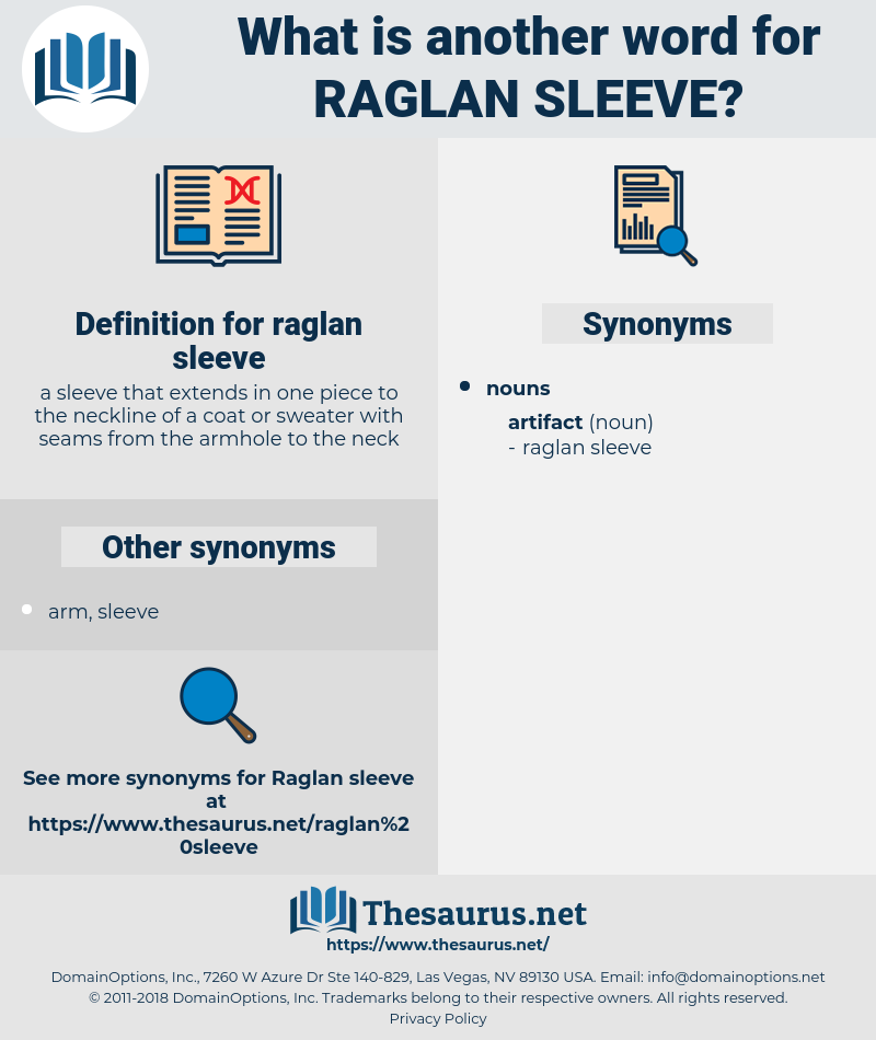 raglan sleeve, synonym raglan sleeve, another word for raglan sleeve, words like raglan sleeve, thesaurus raglan sleeve