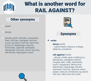 rail against, synonym rail against, another word for rail against, words like rail against, thesaurus rail against