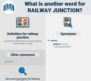 railway junction, synonym railway junction, another word for railway junction, words like railway junction, thesaurus railway junction