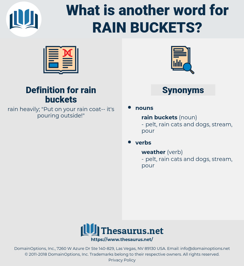 rain buckets, synonym rain buckets, another word for rain buckets, words like rain buckets, thesaurus rain buckets