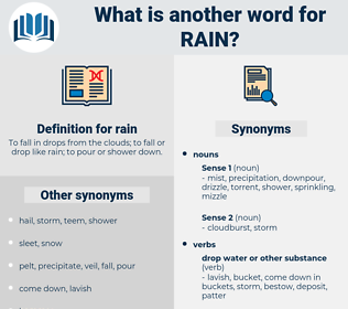 rain, synonym rain, another word for rain, words like rain, thesaurus rain