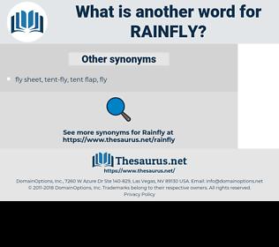 rainfly, synonym rainfly, another word for rainfly, words like rainfly, thesaurus rainfly