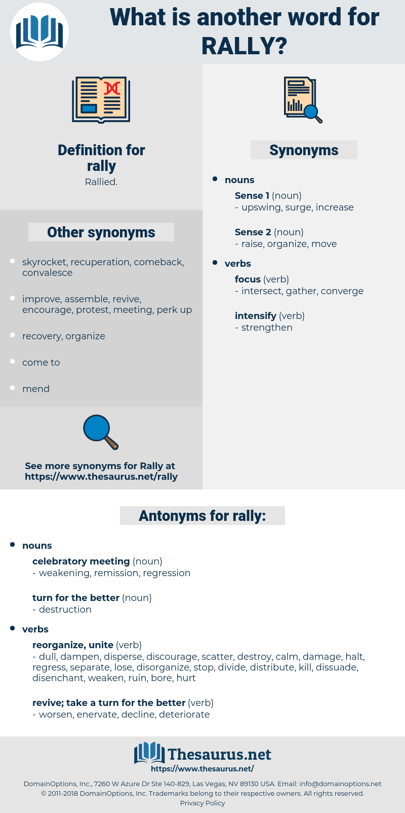 rally, synonym rally, another word for rally, words like rally, thesaurus rally