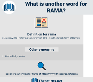 rama, synonym rama, another word for rama, words like rama, thesaurus rama