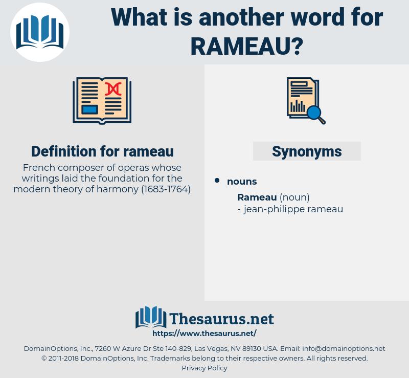 rameau, synonym rameau, another word for rameau, words like rameau, thesaurus rameau