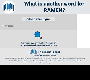Ramen, synonym Ramen, another word for Ramen, words like Ramen, thesaurus Ramen