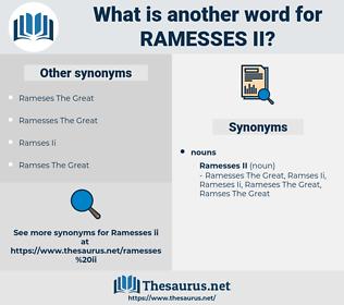 Ramesses Ii, synonym Ramesses Ii, another word for Ramesses Ii, words like Ramesses Ii, thesaurus Ramesses Ii