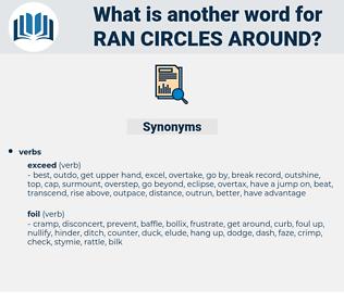 ran circles around, synonym ran circles around, another word for ran circles around, words like ran circles around, thesaurus ran circles around