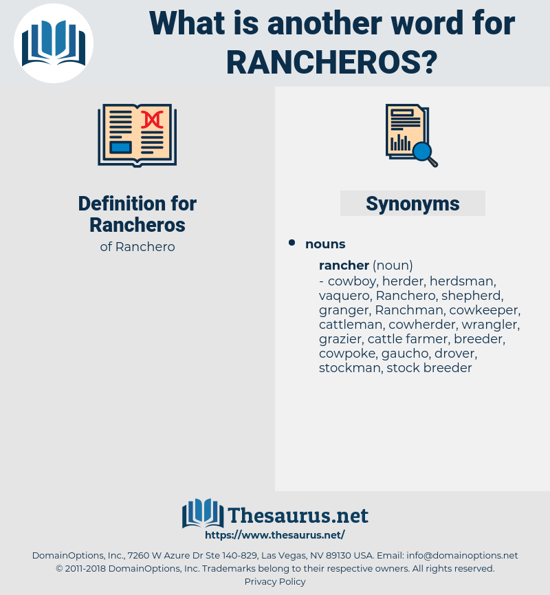 Rancheros, synonym Rancheros, another word for Rancheros, words like Rancheros, thesaurus Rancheros