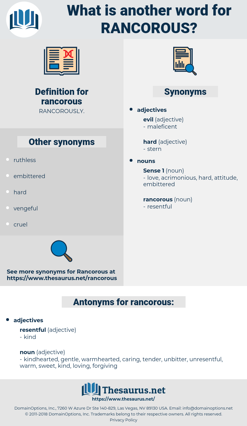 rancorous, synonym rancorous, another word for rancorous, words like rancorous, thesaurus rancorous