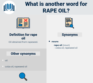 rape oil, synonym rape oil, another word for rape oil, words like rape oil, thesaurus rape oil
