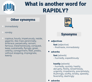 rapidly, synonym rapidly, another word for rapidly, words like rapidly, thesaurus rapidly