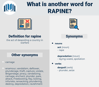 rapine, synonym rapine, another word for rapine, words like rapine, thesaurus rapine