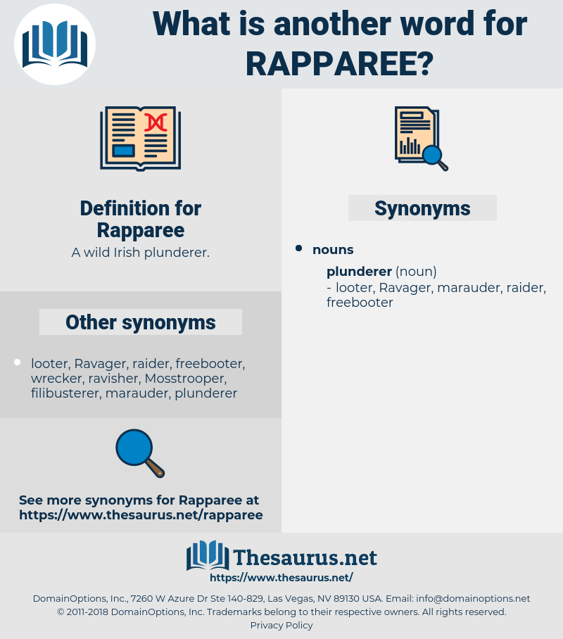 Rapparee, synonym Rapparee, another word for Rapparee, words like Rapparee, thesaurus Rapparee