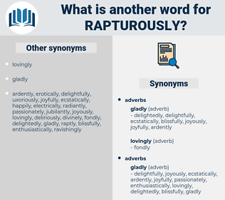 rapturously, synonym rapturously, another word for rapturously, words like rapturously, thesaurus rapturously