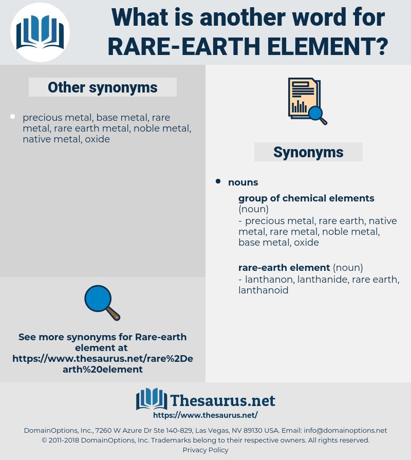 rare-earth element, synonym rare-earth element, another word for rare-earth element, words like rare-earth element, thesaurus rare-earth element