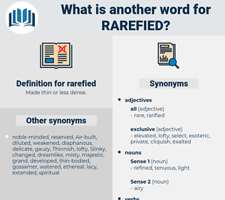 rarefied, synonym rarefied, another word for rarefied, words like rarefied, thesaurus rarefied