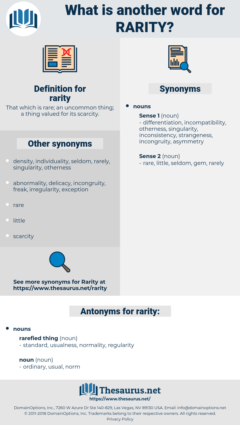 rarity, synonym rarity, another word for rarity, words like rarity, thesaurus rarity