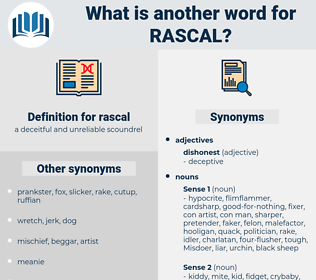 rascal, synonym rascal, another word for rascal, words like rascal, thesaurus rascal