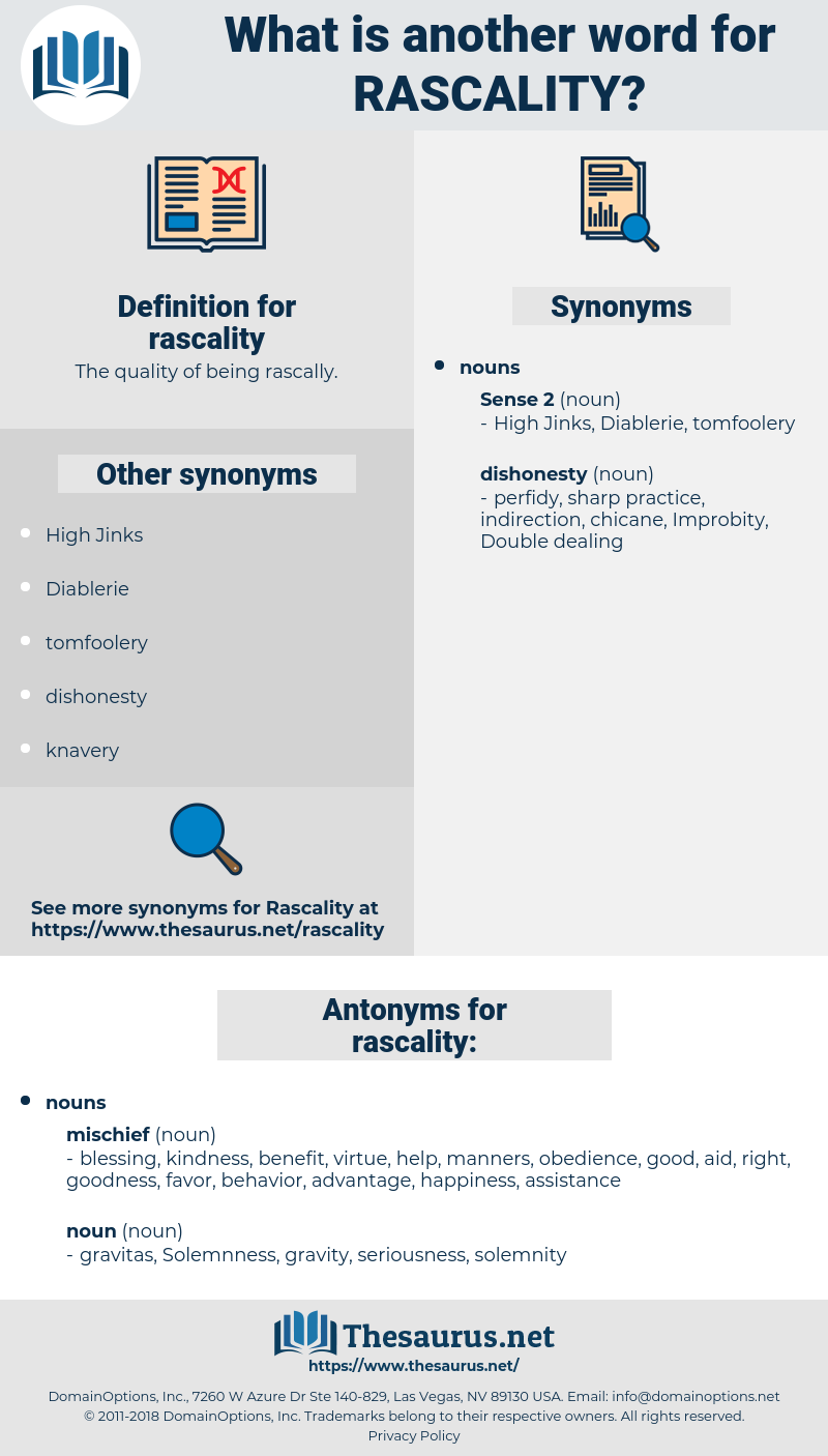 rascality, synonym rascality, another word for rascality, words like rascality, thesaurus rascality