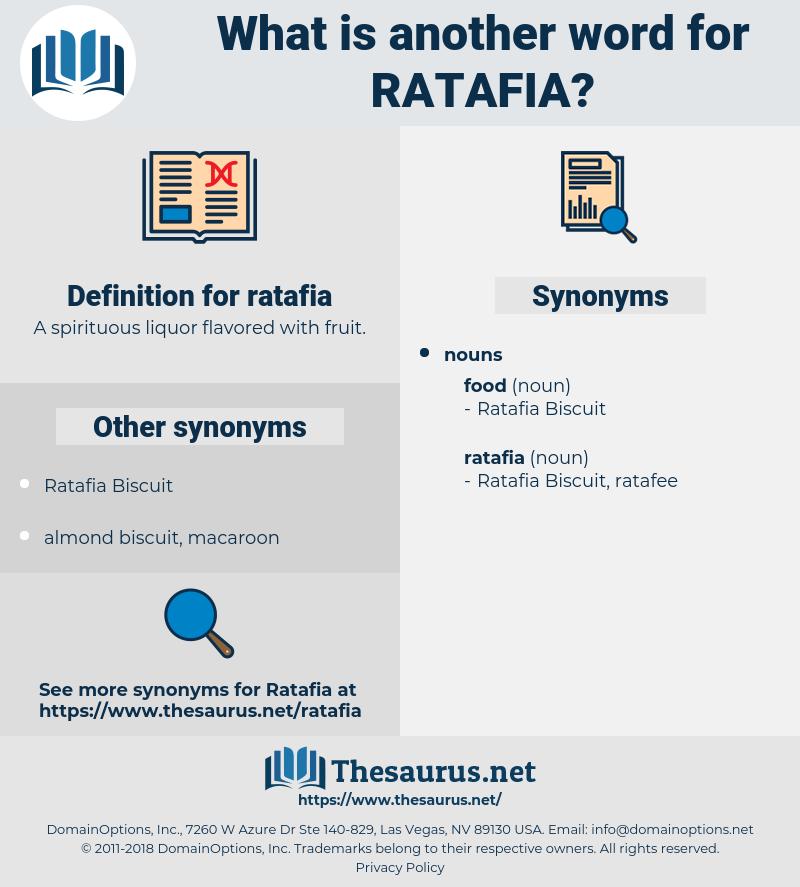 ratafia, synonym ratafia, another word for ratafia, words like ratafia, thesaurus ratafia