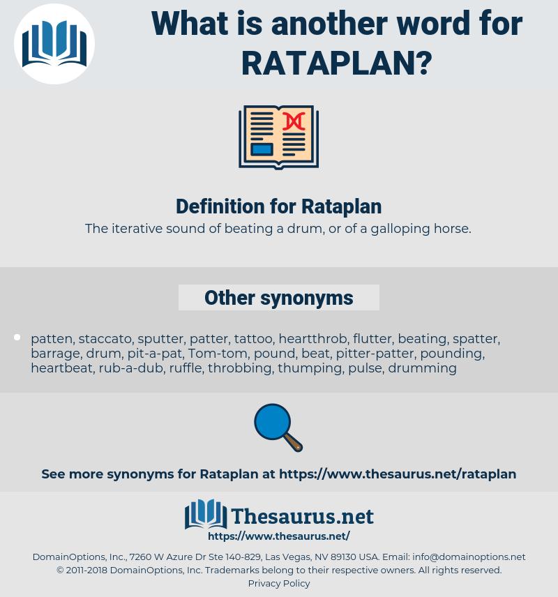Rataplan, synonym Rataplan, another word for Rataplan, words like Rataplan, thesaurus Rataplan