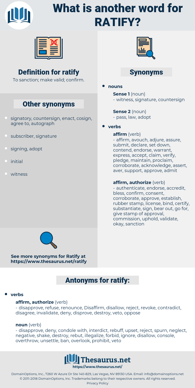 ratify, synonym ratify, another word for ratify, words like ratify, thesaurus ratify
