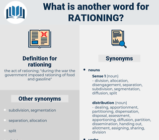 rationing, synonym rationing, another word for rationing, words like rationing, thesaurus rationing