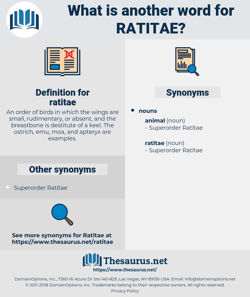 ratitae, synonym ratitae, another word for ratitae, words like ratitae, thesaurus ratitae