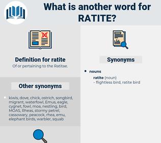 ratite, synonym ratite, another word for ratite, words like ratite, thesaurus ratite