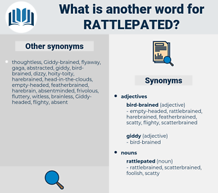 rattlepated, synonym rattlepated, another word for rattlepated, words like rattlepated, thesaurus rattlepated