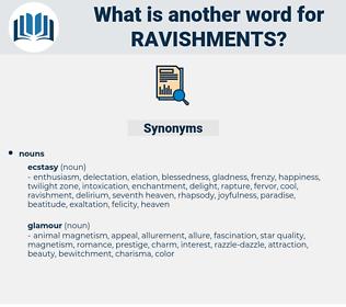 ravishments, synonym ravishments, another word for ravishments, words like ravishments, thesaurus ravishments