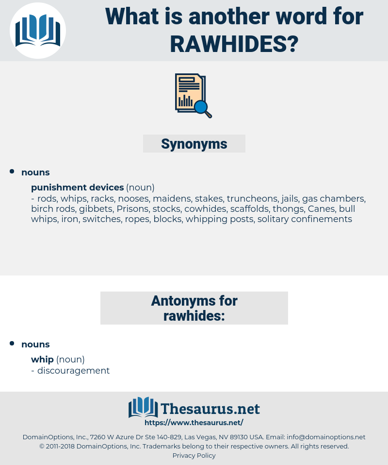 rawhides, synonym rawhides, another word for rawhides, words like rawhides, thesaurus rawhides
