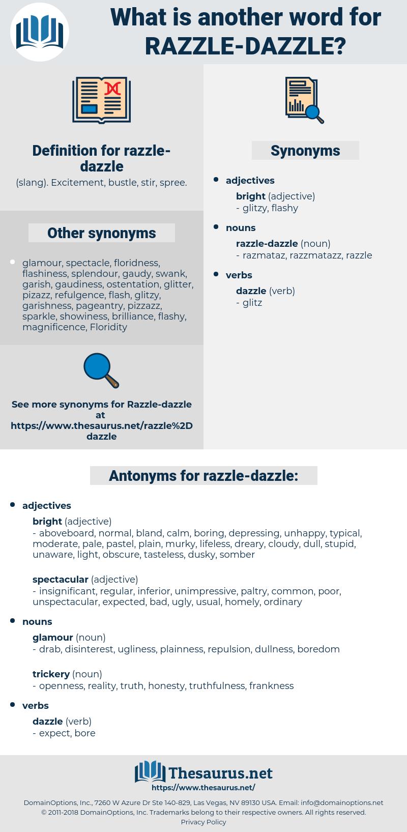 razzle-dazzle, synonym razzle-dazzle, another word for razzle-dazzle, words like razzle-dazzle, thesaurus razzle-dazzle