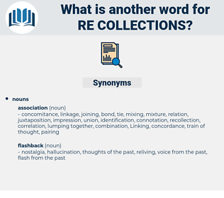 re collections, synonym re collections, another word for re collections, words like re collections, thesaurus re collections