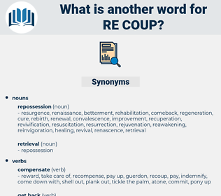 re-coup, synonym re-coup, another word for re-coup, words like re-coup, thesaurus re-coup
